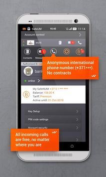Secure messenger SafeUM captura de pantalla 3