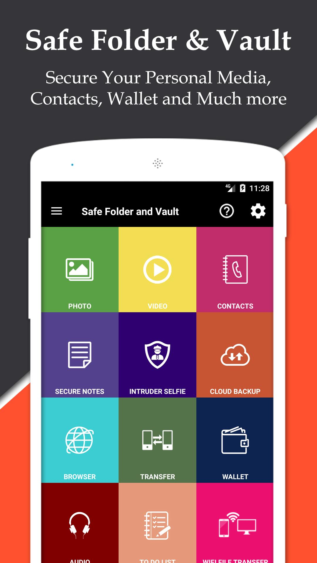 Safe Folder Vault App Lock : Hide Photo And Video for Android - APK