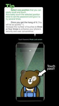 Touch Lock Screen- Easy & strong Black Password screenshot 7