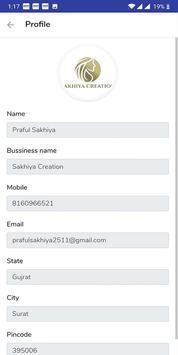 Sakhiya Creation screenshot 2