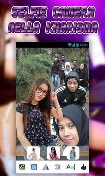 Selfie Camera Nella screenshot 1