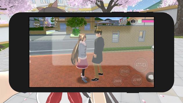 Guide for Sakura-School Simu-lator : TIPS 2020 screenshot 4