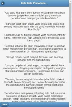Kata-Kata Sahabat Sejati screenshot 3