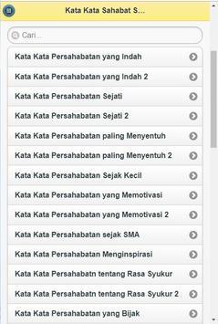 Kata-Kata Sahabat Sejati screenshot 5