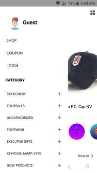 Football Merchandise screenshot 3