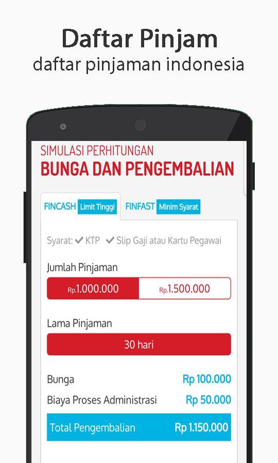 Pinjamtunai Daftar Info For Android Apk Download
