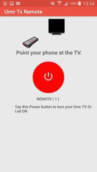 Umc Tv Remote screenshot 2