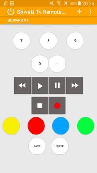 Remote Control for Shivaki Tv screenshot 1