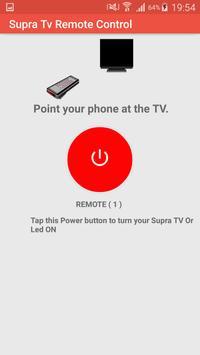 Remote Control For Supra Tv screenshot 2