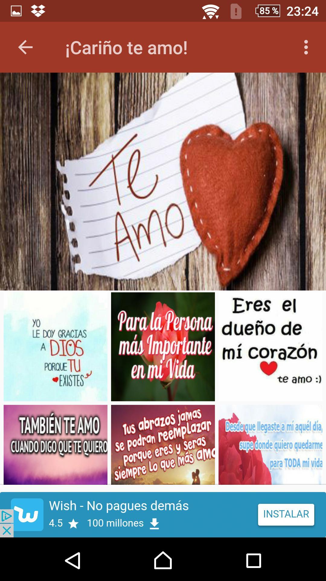 Cariño Te Amo Imágenes Y Frases De Amor для андроид