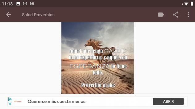 Proverbios Sabios screenshot 3