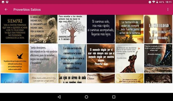 Proverbios Sabios screenshot 9