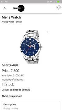Sale Plus screenshot 1