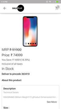 Sale Plus screenshot 4