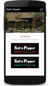 Salt'n Pepper Restaurants screenshot 1