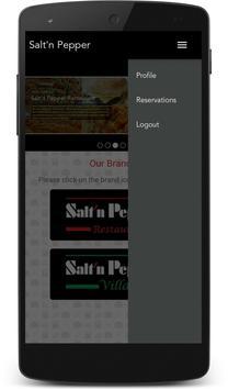 Salt'n Pepper Restaurants screenshot 4