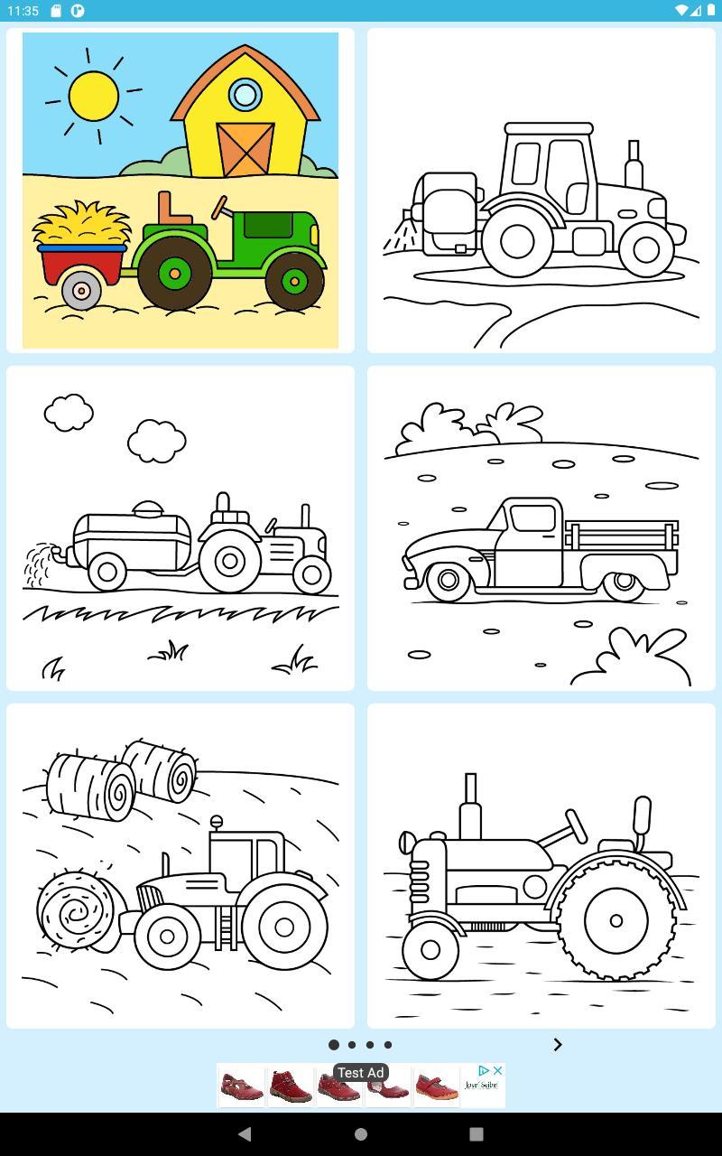 Traktor Ausmalbilder for Android - APK Download