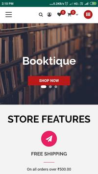 Booktique screenshot 2