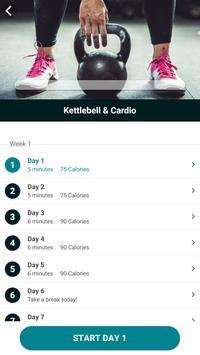 The Kettlebell Challenge - Fat Burning Workouts تصوير الشاشة 5