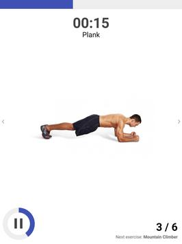 The Plank Challenge - 30 Day Workout Plan syot layar 8