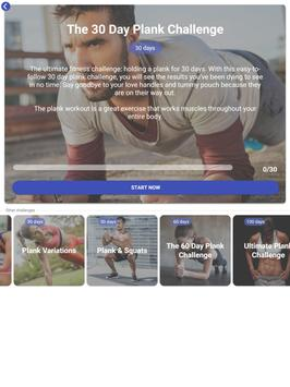 The Plank Challenge - 30 Day Workout Plan syot layar 10