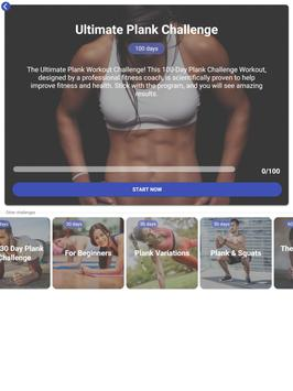 The Plank Challenge - 30 Day Workout Plan syot layar 12