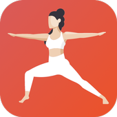 Yoga Workout Challenge - Lose weight with yoga 图标