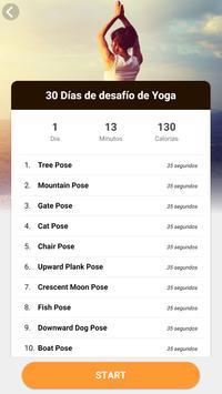 Posturas de yoga para adelgazar captura de pantalla 2