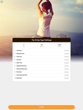 Yoga Workout Challenge - Lose weight with yoga 截图 11
