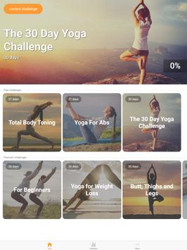 Yoga Workout Challenge - Lose weight with yoga 截图 7
