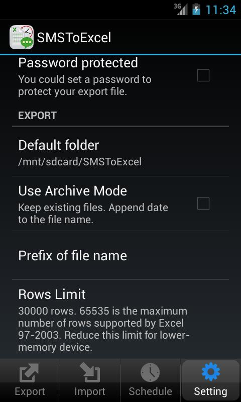 SMSToExcel for Android - APK Download