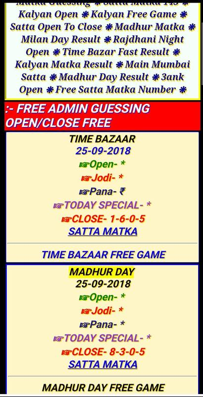 3 Ank Open To Close