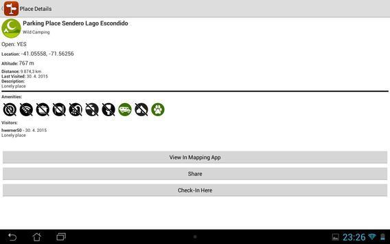 iOverlander screenshot 9