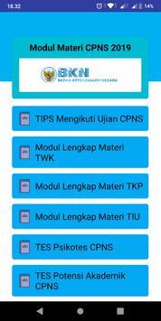 Modul Materi CPNS 2019 poster