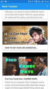 Mark Youtube: Official Channel of Sameer Mark screenshot 2