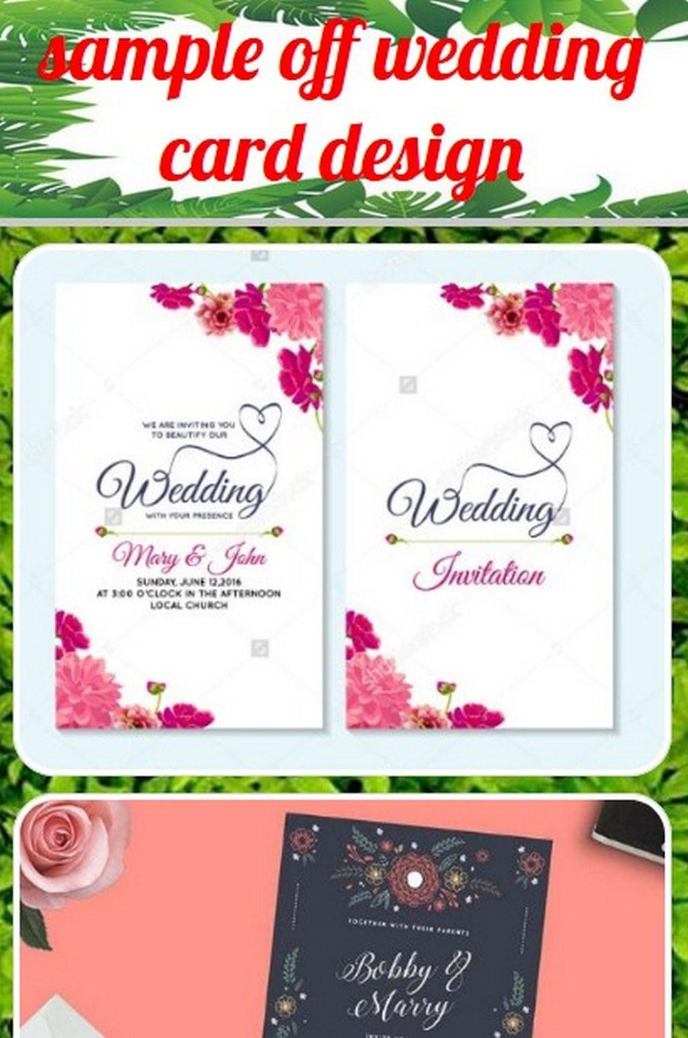 Sample Of Wedding Card Design For Android APK Download