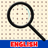 Practice English! Word Search icon