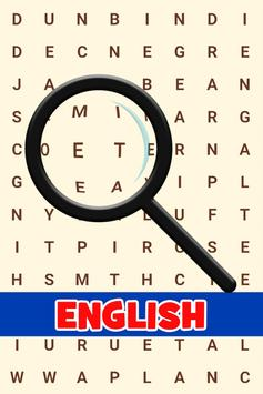 Practice English! Word Search poster