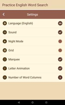 Practice English! Word Search screenshot 2