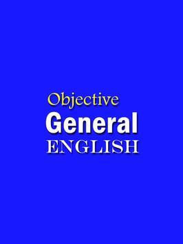Objective General English - SP Bakshi poster