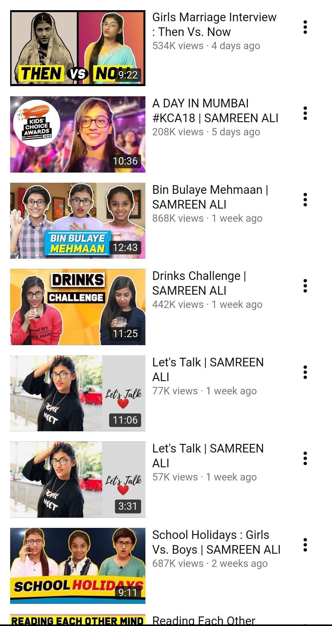 Samreen Ali Videos for Android - APK Download