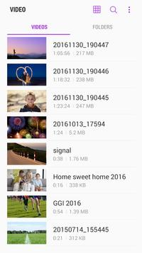 Samsung Video Library स्क्रीनशॉट 1