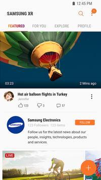 Samsung VR: vídeos VR Poster