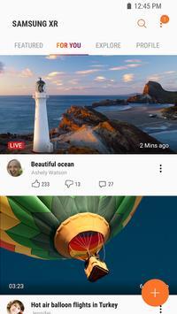 Samsung VR: vídeos VR captura de pantalla 1
