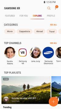 Samsung VR: vídeos VR captura de pantalla 2