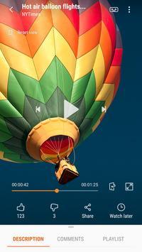 Samsung VR: vídeos VR captura de pantalla 4