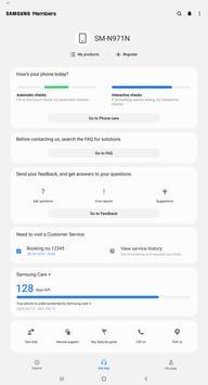 Samsung Members imagem de tela 9