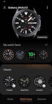 Galaxy Wearable syot layar 3