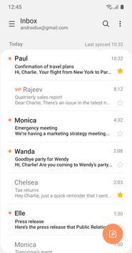 Samsung Email screenshot 1