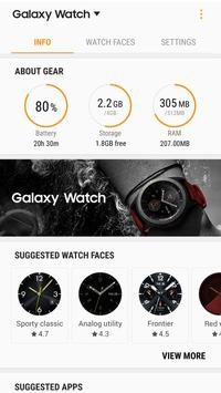 2 Schermata Galaxy Watch Plugin